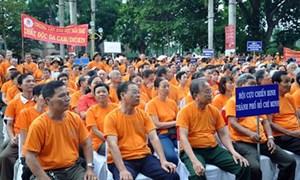 Mít tinh kỷ niệm 55 năm thảm họa da cam ở Việt Nam
