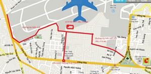 Mở rộng nhiều tuyến đường quanh sân bay Tân Sơn Nhất