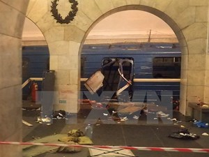 Một nhóm khủng bố thừa nhận là thủ phạm đánh bom Saint Petersburg