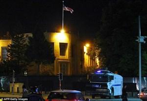 Một tay súng tìm cách đột nhập vào Đại sứ quán Mỹ ở Ankara