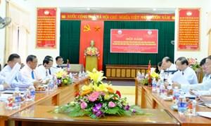 MTTQ tỉnh Quảng Trị và Mặt trận Lào xây dựng đất nước tỉnh Savanakhẹt: Cùng nhau chia sẻ  nhiều kinh nghiệm