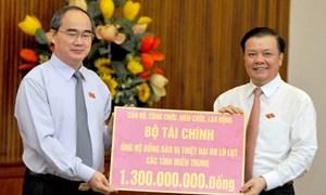 MTTQ Việt Nam tiếp tục đón nhận ủng hộ đồng bào miền Trung