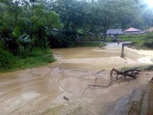 Mưa lớn ở Hà Giang gây thiệt hại nghiêm trọng