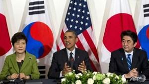 Mỹ - Nhật - Hàn họp bàn vấn đề hạt nhân của Triều Tiên