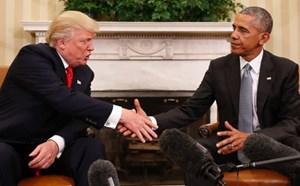 Mỹ: Cuộc trao đổi chuyển giao quyền lực đầu tiên