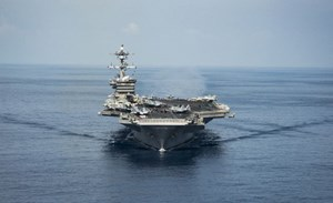 Mỹ điều hàng không mẫu hạm tập trận chung với Nhật Bản