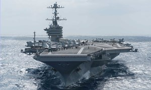 Mỹ đưa đội tàu sân bay đến Biển Đông