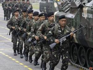 Mỹ hỗ trợ quân sự cho Philippines chống phiến quân Hồi giáo