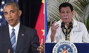 Mỹ hủy họp với Philippines vì phát ngôn xúc phạm của ông Duterte