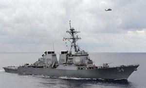 Mỹ, Philippines tuần tra chung ở Biển Đông