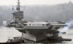 Mỹ tăng cường tàu sân bay ở Tây Thái Bình Dương