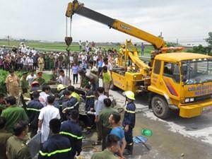 Nam Định: Bất ngờ quay đầu xe, tài xế tử vong
