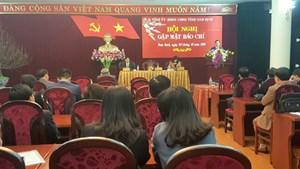 Nam Định 'luôn cầu thị, lắng nghe báo chí'