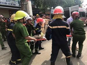 Nạn nhân vụ sập nhà 2 tầng ở Hà Tĩnh đã tử vong