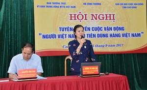 Nâng cao hiệu quả tuyên truyền để người Việt Nam dùng hàng Việt Nam
