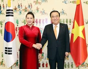 Nâng cấp quan hệ Đối tác hợp tác chiến lược Việt Nam-Hàn Quốc