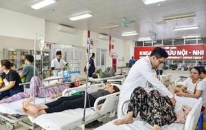 Nắng nóng đỉnh điểm, bệnh nhân nhập viện tăng cao
