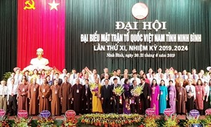 Đại hội đại biểu MTTQ tỉnh Ninh Bình