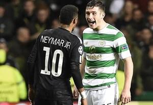 Neymar từ chối đổi áo với cầu thủ Celtic