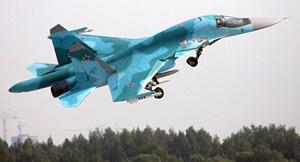 Nga cấm bay toàn bộ Su-34 sau vụ va chạm trên không