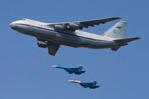Nga chuyển giao tên lửa S-300 bằng vận tải cơ quân sự lớn nhất thế giới đến Syria