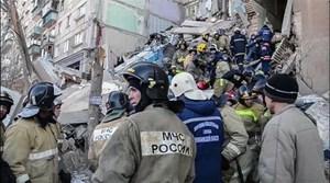 Nga: Số người thiệt mạng trong vụ sập chung cư tăng cao