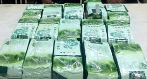 Nghệ An: Bắt 3 đối tượng, thu giữ 15kg ma túy đá