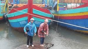 Nghệ An: Quản lý chặt chẽ tàu thuyền ra khơi, ứng phó với cơn bão số 10