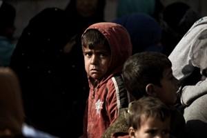 Người dân Mosul đồng loạt sơ tán khỏi chiến sự