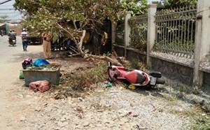 Người phụ nữ tông tường rào khi truy đuổi cướp ở Sài Gòn