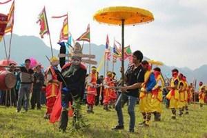 Người Tày gìn giữ hội Ná Nhèm