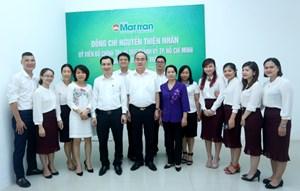 Nguyên Chủ tịch Nguyễn Thiện Nhân thăm Tạp chí Mặt trận
