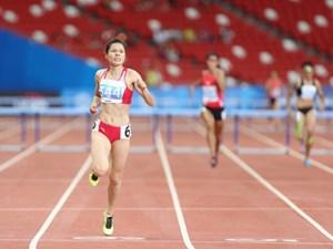 Nguyễn Thị Huyền đoạt HCV 400 m rào châu Á và phá kỷ lục quốc gia