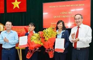 Ủy ban Kiểm tra Thành ủy TP Hồ Chí Minh bổ sung nhân sự chủ chốt