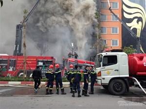 Nhanh chóng điều tra vụ cháy quán karaoke ở Trần Thái Tông