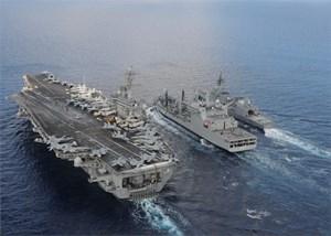 Nhật, Mỹ, Ấn tập trận chung ở Ấn Độ Dương