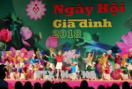 Nhiều hoạt động phong phú tại Ngày hội Gia đình Việt Nam năm 2019
