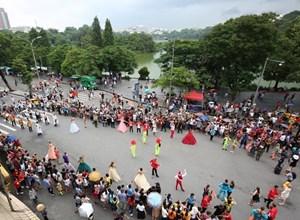 Nhiều sự kiện tại phố đi bộ hồ Hoàn Kiếm trong tháng 12