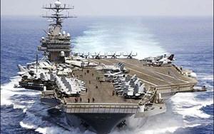 Nhóm tàu sân bay Mỹ tuần tra ở Biển Đông