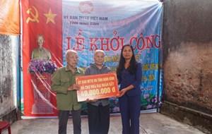 Ninh Bình: Mặt trận xây nhà Đại đoàn kết cho hộ nghèo