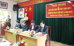 Ninh Bình: Tập trung triển khai công tác bầu cử