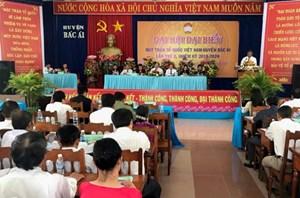 Ninh Thuận: Đại hội MTTQ Việt Nam huyện Bác Ái