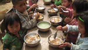 Nỗ lực cải thiện dinh dưỡng cho trẻ em