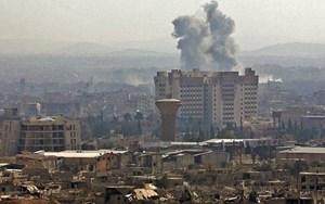 Syria: Nổ kho đạn ở thủ đô Damascus
