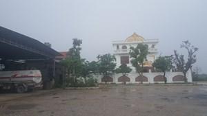 Huyện Quỳnh Lưu (Nghệ An): Nhiều công trình lớn xây trái phép