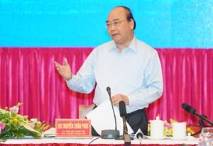 Thủ tướng: Miền Trung, Tây Nguyên phải phát triển để ổn định