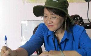 Nữ Bí thư Tỉnh đoàn làm Bí thư huyện Bình Sơn