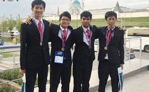 Olympic Tin học quốc tế 2016: 4 thí sinh Việt Nam đều có huy chương