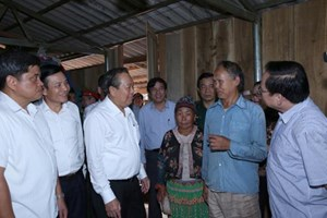 Ổn định tình trạng di dân ở Điện Biên