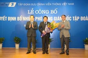 Ông Huỳnh Quang Liêm được bổ nhiệm Phó Tổng Giám đốc VNPT
